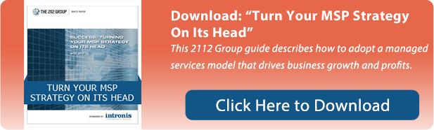 Turn Your MSP Strategy On Its Head White Paper