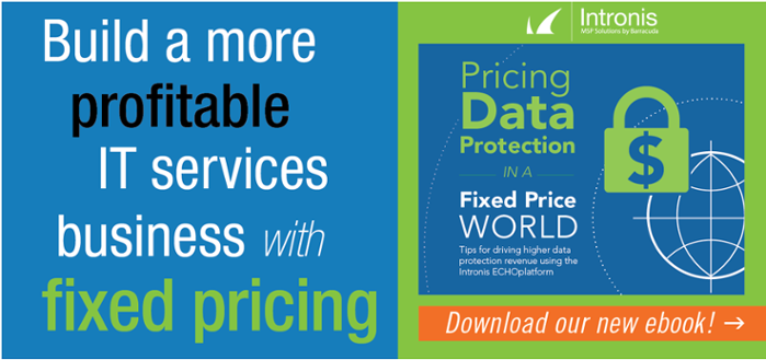 E-book: Pricing Data Protection in a Fixed Price World