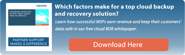 Cloud Backup and Recovery for MSPs
