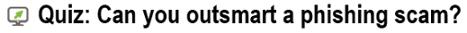 MSP phishing quiz