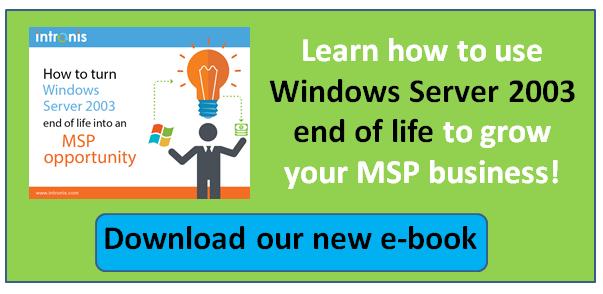 Windows Server 2003 end o life