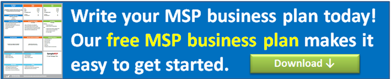 MSP business plan template