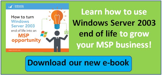 Windows Server 2003 end of life e-book