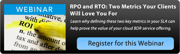Intronis RTO and RPO: Two Metrics Your Clients Will Love You For