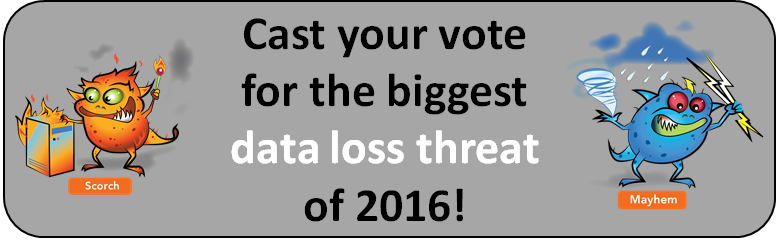 Data loss gremlins: Election 2016