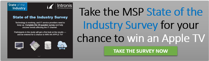 Intronis MSP Solutions State of the Industry Survey