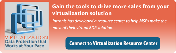 Virtualization cloud backup resource center
