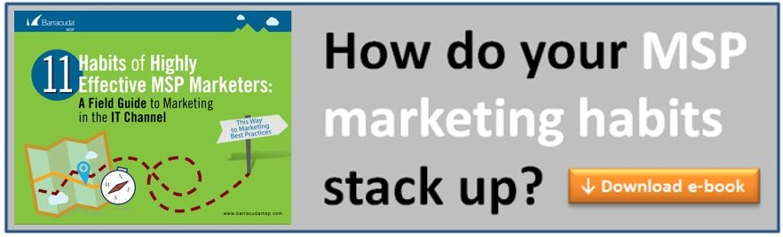 E-book: 11 Habits of Highly Effective MSP Marketers