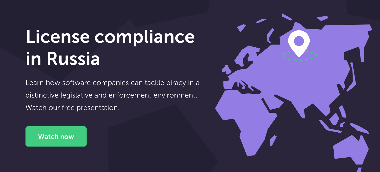 License compliance in Russia CTA