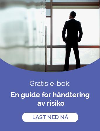 Ladda ner gratis e-guide: En guide for håndtering  av risiko