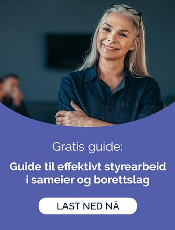 Gratis guide: Guide til effektivt styrearbeid i sameier og borettslag
