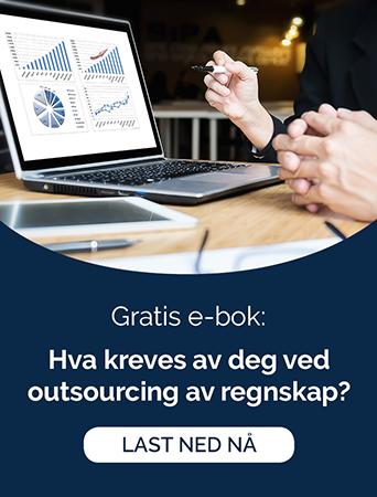 Last ned gratis e-bok: Hva kreves av deg ved outsourcing av regnskap?