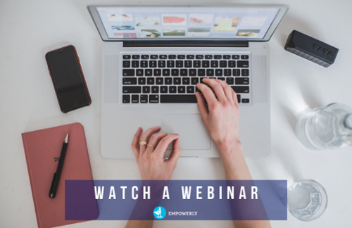 Sign up to watch a free Empowerly live webinar