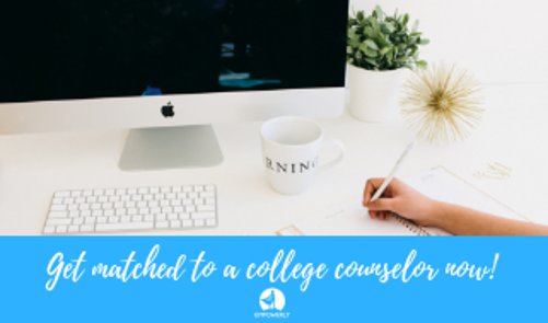 Get Matched With a College Counselor