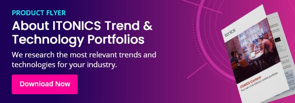 Cross-industry Trend & Technology Content Portfolios