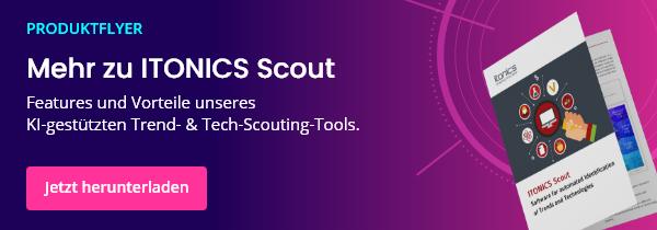 ITONICS Scout Produktflyer