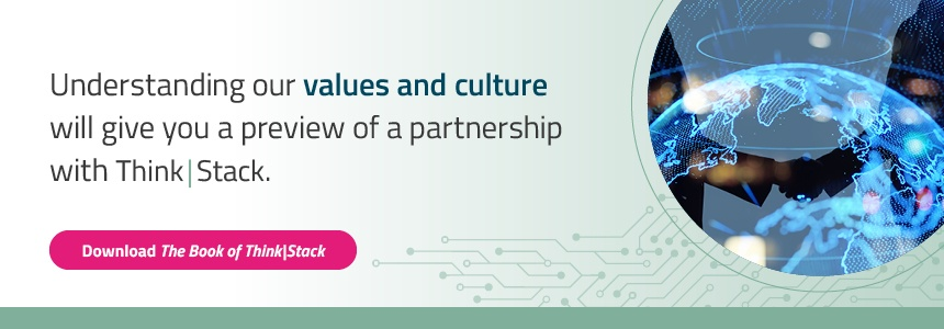 Blog CTA - Values and Culture - The Book of Think|Stack