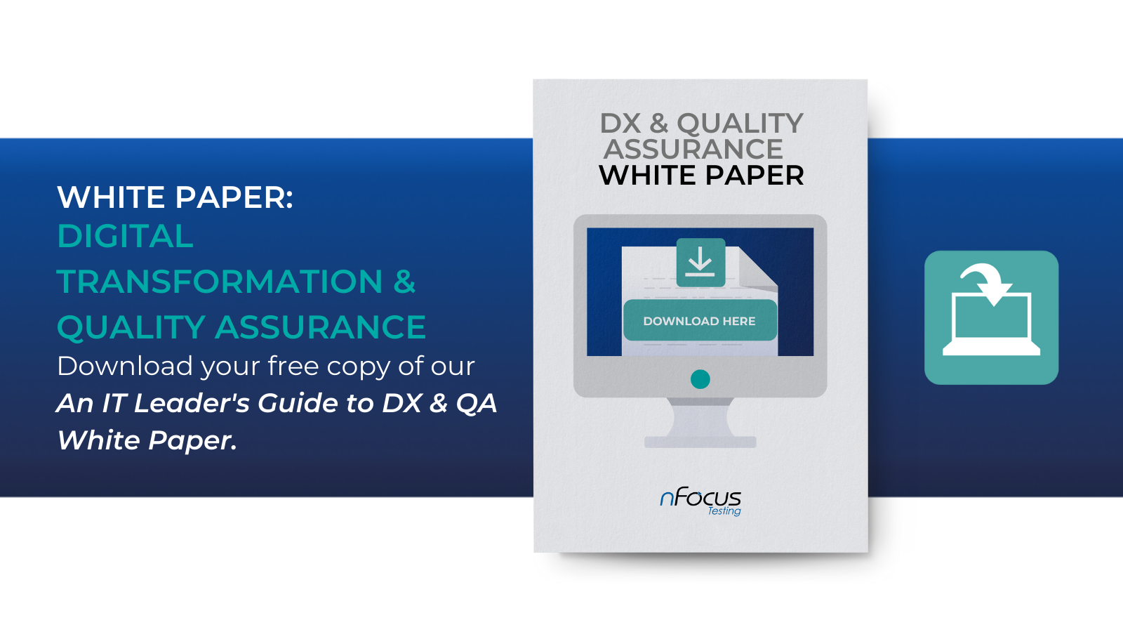 An IT Leader's Guide to Digital Transformation & Quality Assurance White Paper