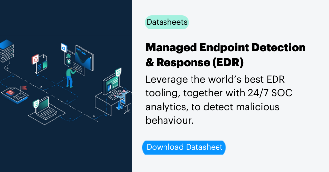 Managed Endpoint Detection and Response (EDR) services