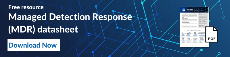 Managed Detection Response (MDR) datasheet
