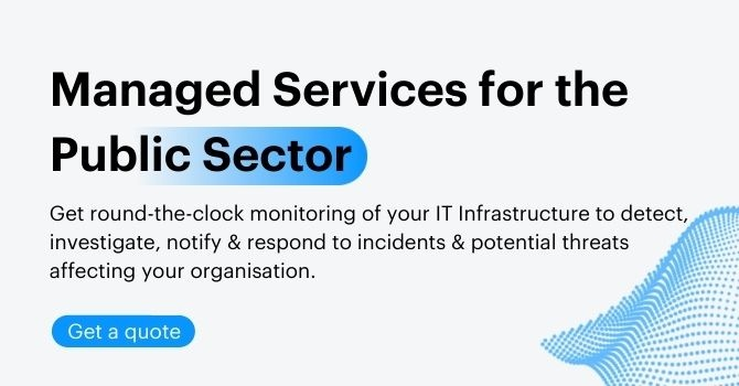 Managed Services for the Public Sector Press release CTA Banner