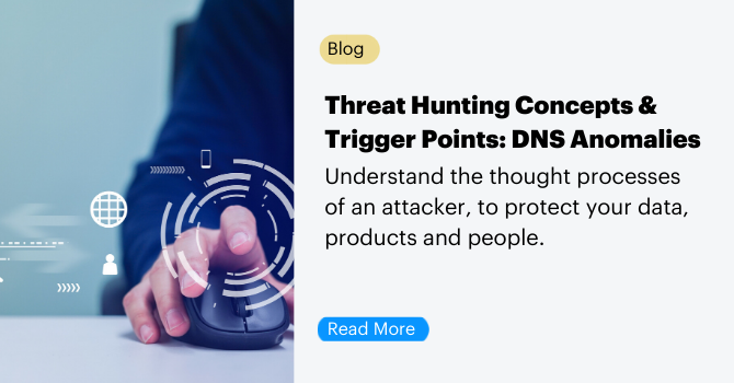 Read More: Threat Hunting Concepts & Trigger Points DNS Anomalies Blog