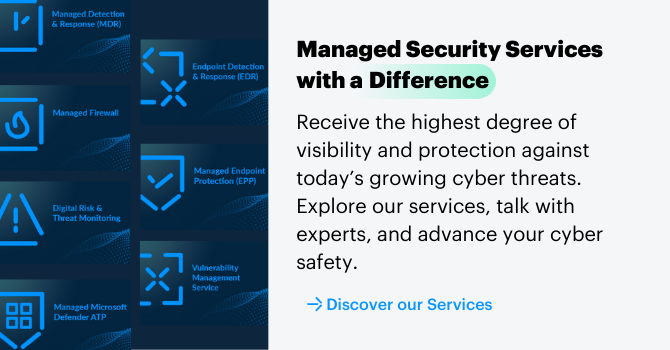 Managed Security Services with a difference