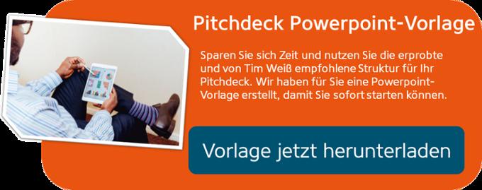 Powerpoint - Vorlage für Ihr Pitchdeck