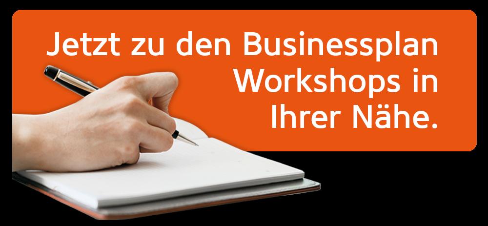 Jetzt zu den Businessplan Workshops in Ihrer Nähe