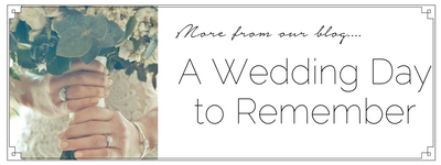 a wedding day to remember