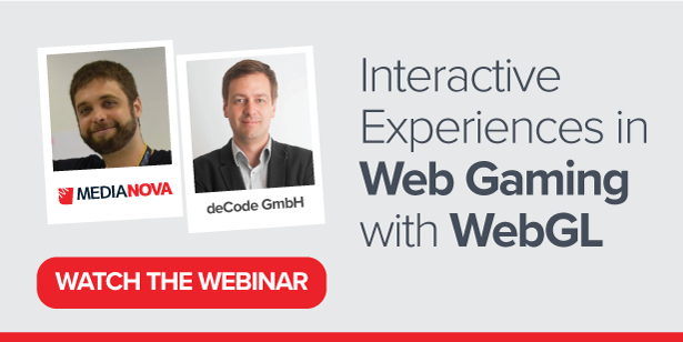 Interactive Experiences in Web Gaming with WebGL