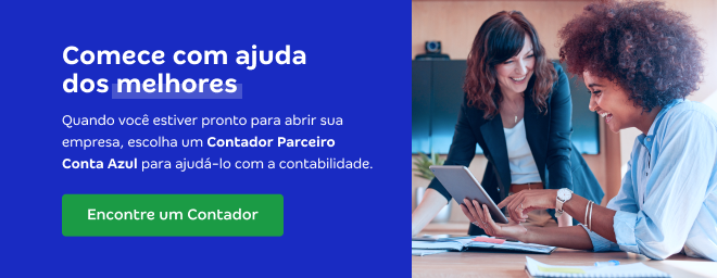 Escolha um Contador Parceiro Conta Azul para ajudar na contabilidade sua empresa