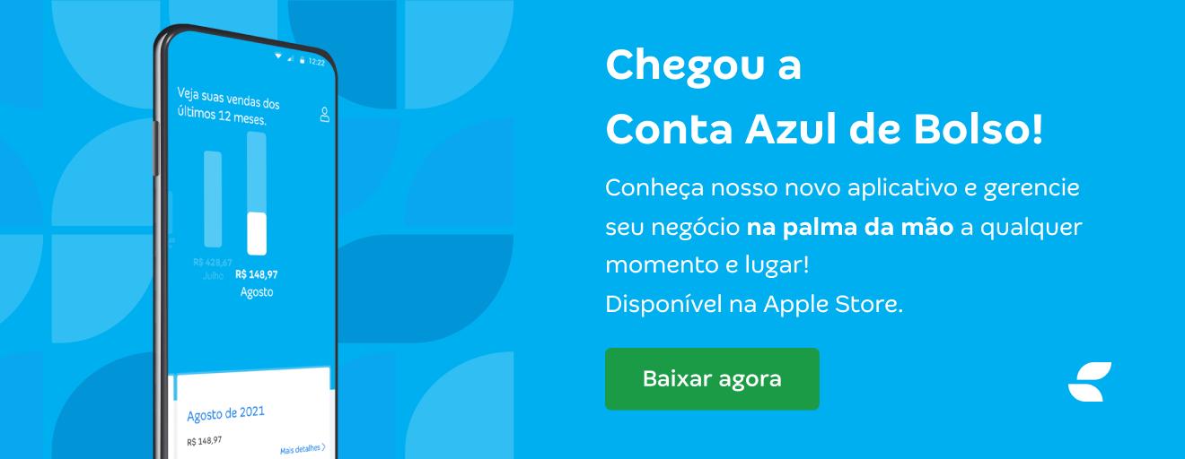 Aplicativo Conta Azul de Bolso da Conta Azul na Apple Store para IPhones