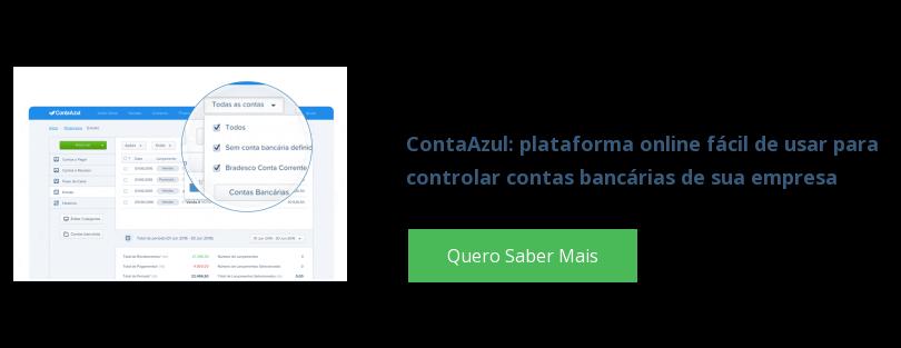 ContaAzul: plataforma online fácil de usar para  controlar contas bancárias de sua empresa Quero Saber Mais