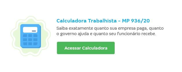 Calculadora trabalhista - MP 936/20