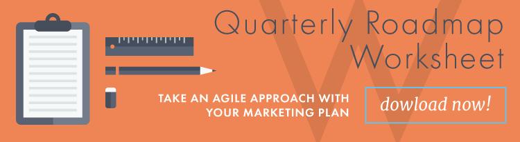 quarterly inbound marketing roadmap worksheet