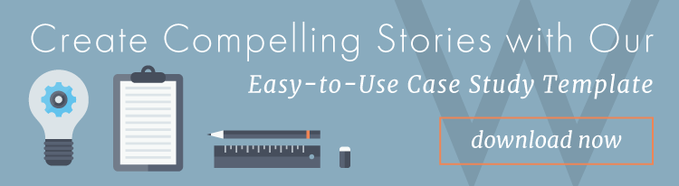 Create compelling stories with our easy-to-use case study template