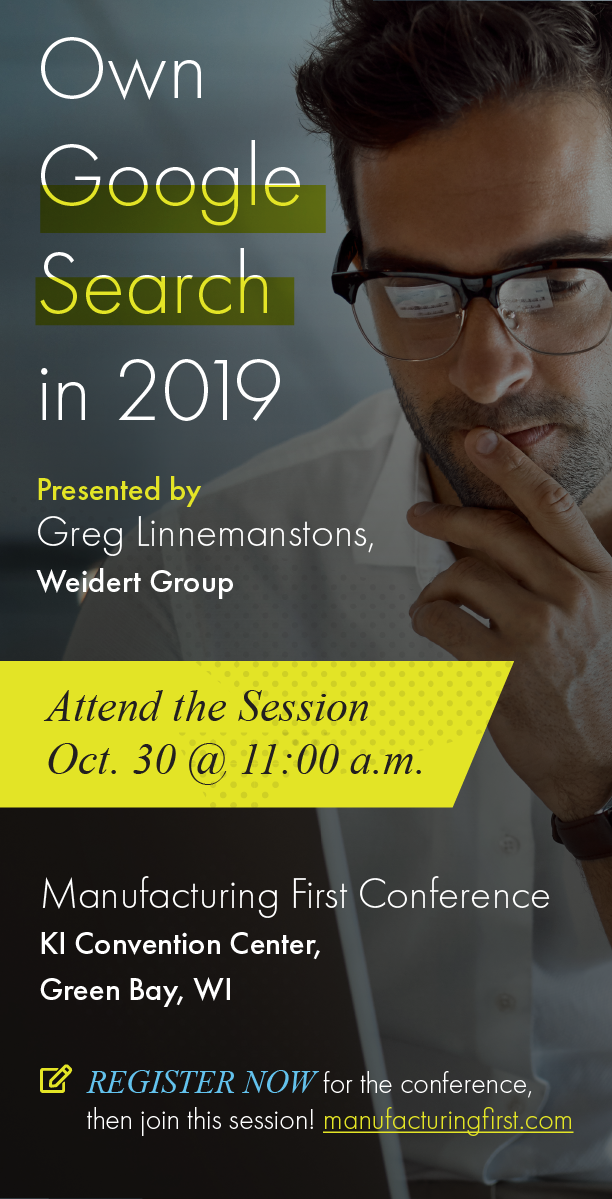 Manufacturing First Expo & Conference 2019