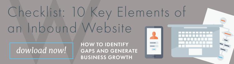 Checklist: how to prepare your website for inbound marketing