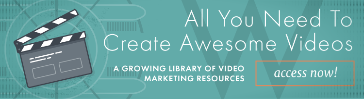 Video marketing resources library