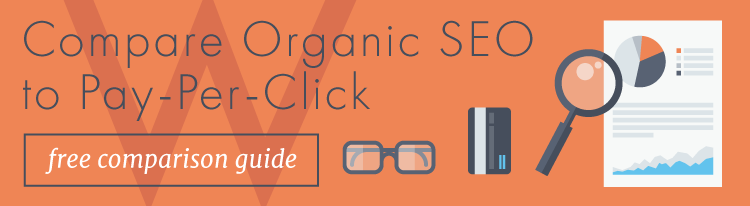 Compare organic SEO to Pay-Per-Click