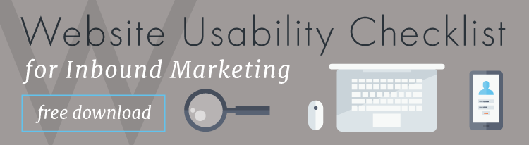 Website usability checklist for inbound marketing