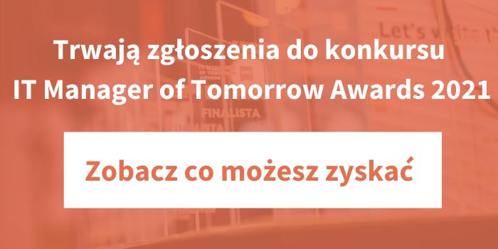 Trwają zgłoszenia do konkursu ITMT Awards 2021