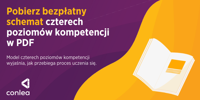 >> Pobierz bezpłatny schemat czterech poziomów kompetencji w pdf