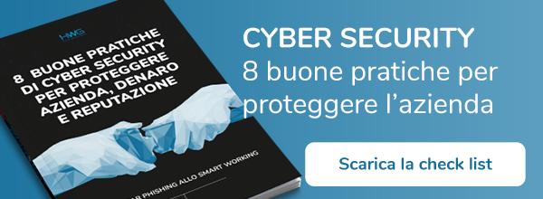 Cyber Security - 8 buone pratiche per proteggere l'azienda