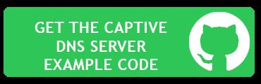 Captive DNS Server Example Code