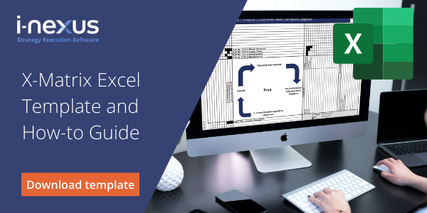 X-matrix excel template and how to guide