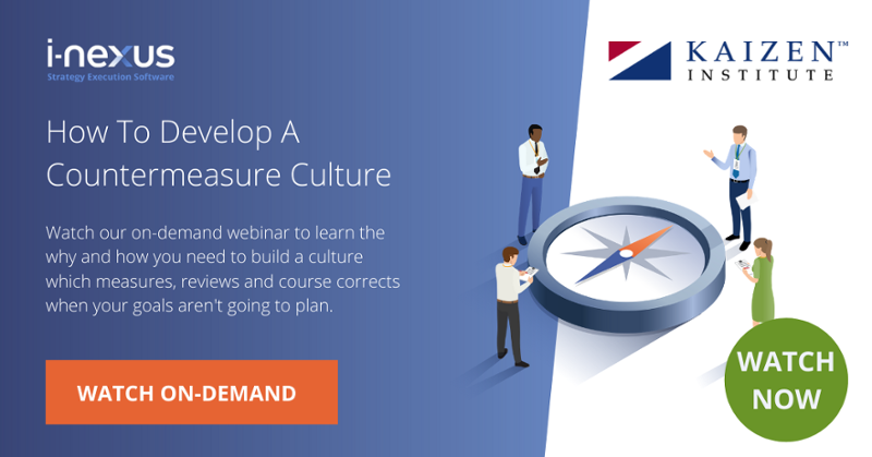 Develop a countermeasure culture