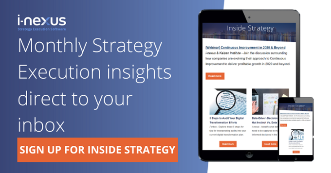 Inside strategy newsletter
