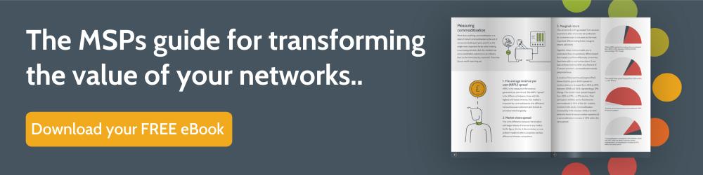 ebook about transforming the value of networks
